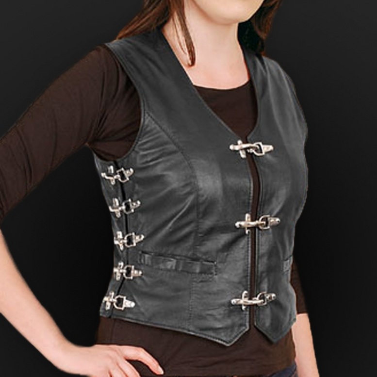 Women`s motorcycle vests