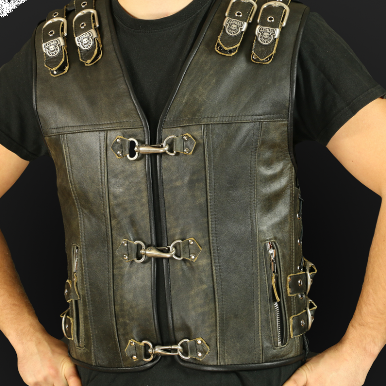Men`s motorcycle vests