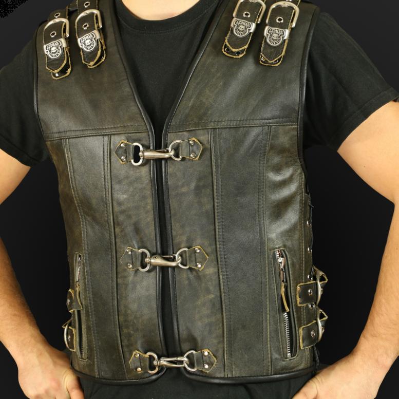 Men`s motorcycle vests
