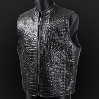 Leather vest m20