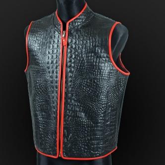 Leather vest m20c