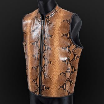 Leather vest m23