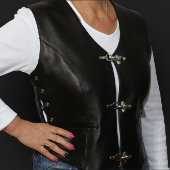 Leather Vest M05 ks
