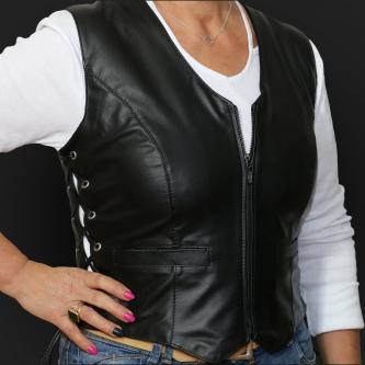Leather Vest M05 s