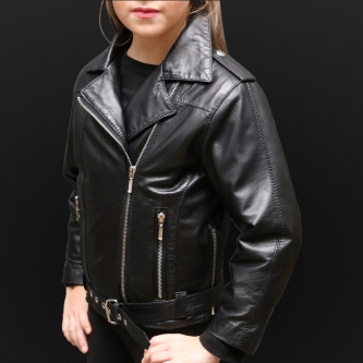 Children Leather Jacket