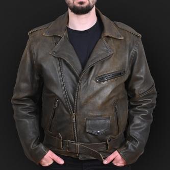 Motorcycle jacket K02 olive