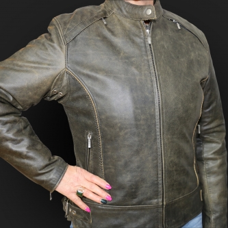Motorcycle Jacket K36 Olive