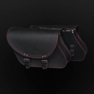 Motorcycle bags sa25 black&red